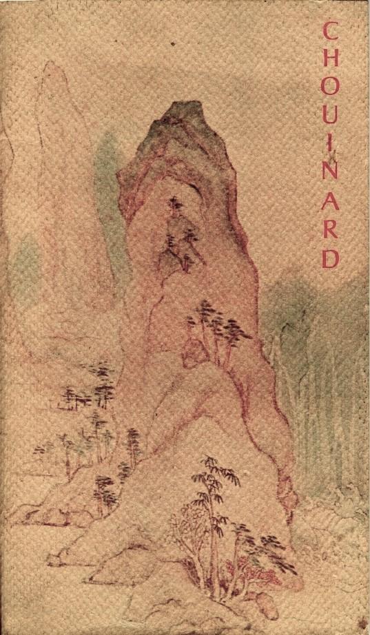 Chouinard Catalog cover 1972